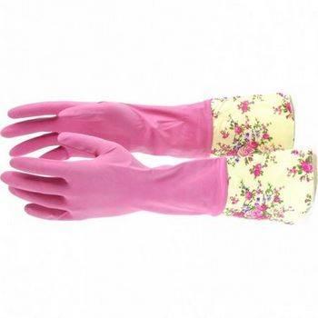 Купить Перчатки хозяйственные латексные с манжетой, L Elfe