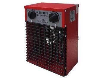 Купить Пушка тепловая электрическая РЕСАНТА ТЭП-3000Н компактная