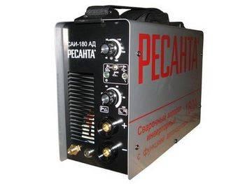 Купить Аппарат сварочный инверторный РЕСАНТА САИ-180-АД 5,2 кВт