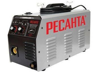 Купить Аппарат сварочный инверторный РЕСАНТА САИПА-220 6,3 кВт