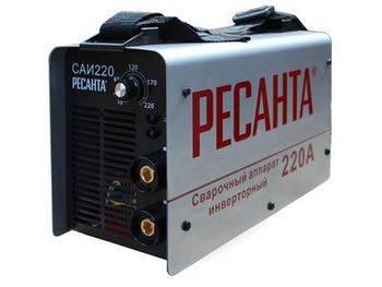Купить Аппарат сварочный инверторный РЕСАНТА САИ 220 6,6 кВт