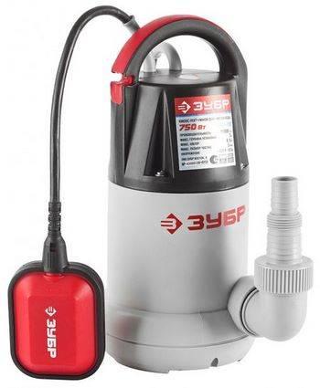 Купить Насос дренажный погружной для чистой воды ЗУБР ЗНПЧ-750 250 л/мин, 750 Вт