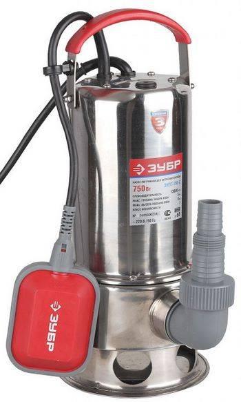 Купить Насос погружной для грязной воды ЗУБР ЗНПГ-750-С 230 л/мин, 750 Вт