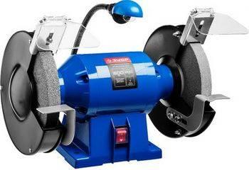 Купить Станок точильный двойной ЗУБР ПРОФЕССИОНАЛ ЗТШМЭ-200-600 лампа подсветки, D200х25хd32 мм, 600 Вт