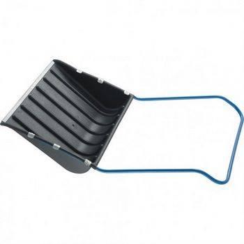 Купить Движок для снега СИБРТЕХ 61593 735х555 мм, полипропиленовый, метал. планка