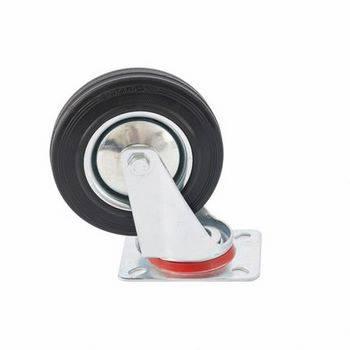 Купить Колесо поворотное d-160мм, крепление платформенное СИБРТЕХ