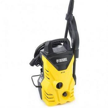 Купить Моечная машина высокого давления R-110, 1500 Вт, 110 бар, 5, 7 л/мин, переносная DENZEL