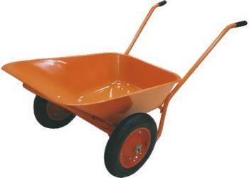 Купить Тачка садово-строительная ТСО-2-02.ОЦ, двухколесн., пневмоколесо, грузоподъемность 120 кг, объем 90л