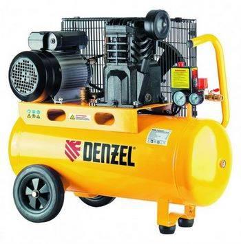 Купить Компрессор PC 2/50-400, Х-PRO, масляный, ременный, 10 бар, производительность 400 л/мин, 2, 3 кВт, 22