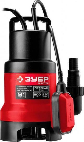 Купить Насос дренажный погружной для грязной воды ЗУБР НПГ-М1-900 900 Вт, 230л/мин