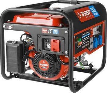 Купить Генератор двухтопливный газ-бензин ЗУБР МАСТЕР ЗЭСГ-2200-М2 2200 Вт, 5,5 л.с.