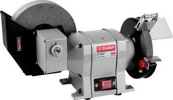 Купить Станок точильный ЗУБР ЗТШМ-150/200У D150х20х32 мм/200х40х32 мм, 134 об/мин, 350 Вт