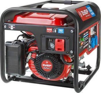Купить Генератор двухтопливный газ-бензин ЗУБР МАСТЕР ЗЭСГ-3500-М2 3500 Вт, 7,5 л.с.