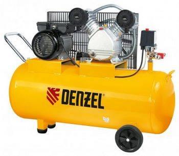 Купить Компрессор воздушный PC 2/100-370, 2, 2 кВт, 370 л/мин, 100 л DENZEL 58091