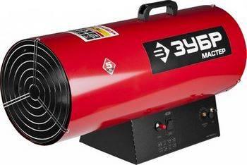 Купить Пушка тепловая газовая ЗУБР МАСТЕР 220 В, 53,0 кВт, 1450м.куб/час, 4,2кг/ч