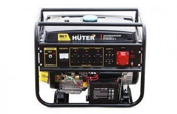 Купить Генератор бензиновый HUTER DY8000LХ-3 64/1/28 15 л.с., 6,5 кВт