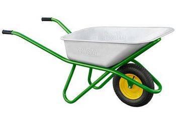 Купить Тачка садово-строительная, усиленная, грузоподъемность 200 кг, объем 90 л Palisad 68918