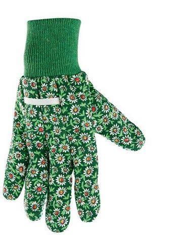 Купить Перчатки PALISAD садовые х/б ткань с ПВХ точкой манжет L