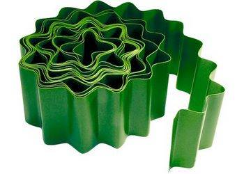 Купить Бордюр садовый, 15 х 900 , зелёный PALISAD