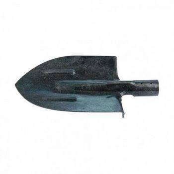 Купить Лопата штыковая, с ребрами жесткости, рельсовая сталь, без черенка СИБРТЕХ