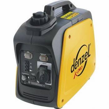 Купить Генератор инверторный GT-950i, X-Pro 0,9 кВт, 220В, бак 2,1 л, ручной старт DENZEL