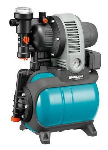 Купить Станция бытового водоснабжения автоматическая GARDENA Classic Eco 3000/4
