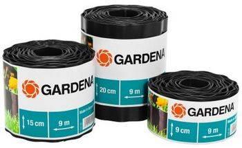 Купить Бордюр черный GARDENA 9 см, длина 9 м