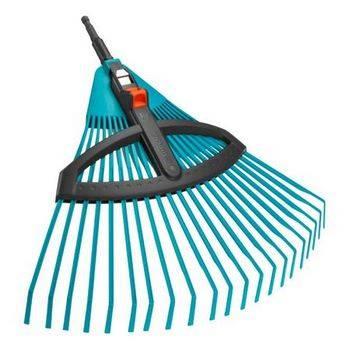 Купить Комплект GARDENA 03099-30 грабли пластиковые регулируемые с алюм. Эргономичной ручкой 130 см