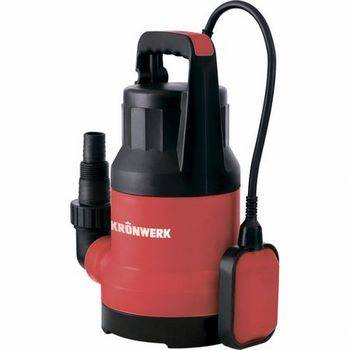 Купить Дренажный насос KP300, 300 Вт, подъем 6м, 7000 л/ч, Kronwerk, 97229