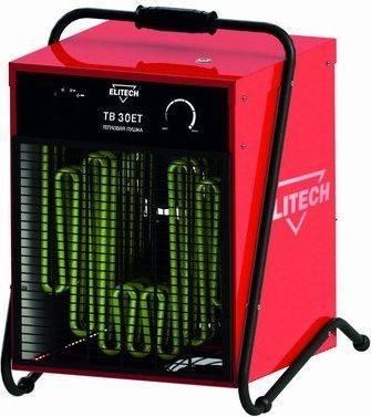 Купить Пушка тепловая электрическая ELITECH ТВ 30ЕТ