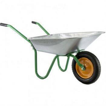 Купить Тачка садовая, грузоподъемность 100 кг, объем 65 л PALISAD, 689125