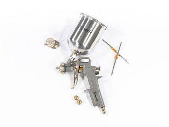 Купить Краскораспылитель пневмат. с верхним бачком V= 0, 6 л + сопла диаметром 1.2, 1.5 и 1.8 мм MATRIX