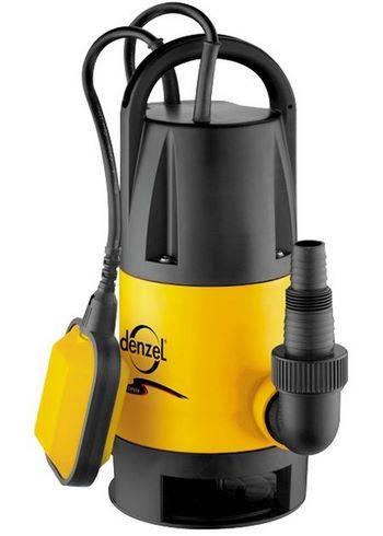 Купить Дренажный насос DP600 600 Вт, подъем 7 м, 10000 л/ч Denzel 97222