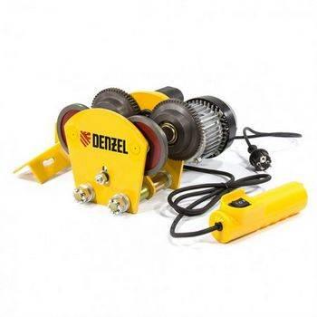 Купить Каретка электрическая для тельфера T-1000, 1 т, 540 Вт DENZEL