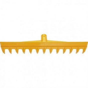 Купить Грабли 13-зубые полипропиленовые с ребрами жесткости без черенка, усиленные PALISAD LUXE