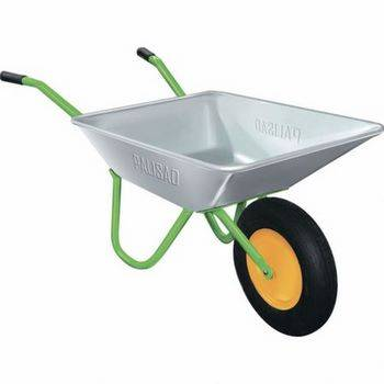 Купить Тачка садовая, грузоподъемность 120 кг, объем 58 л PALISAD, 689103