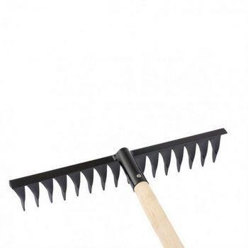 Купить Грабли 16-зубые, 420мм, с черенком, витые СИБРТЕХ