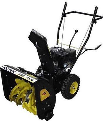 Купить Снегоуборочная машина HUTER SGC 4100