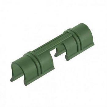 Купить Универсальные зажимы для крепления пленки к каркасу парника d12мм, 20 шт/уп, зеленые PALISAD