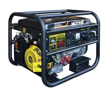Купить Генератор бензиновый HUTER DY6500LXA 64/1/27 13 л.с., 5 кВт