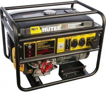 Купить Генератор бензиновый HUTER DY8000LX 64/1/19 15 л.с., 6,5 кВт