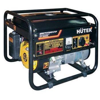 Купить Генератор бензиновый HUTER DY3000L 64/1/4 6 л.с., 2,5 кВт