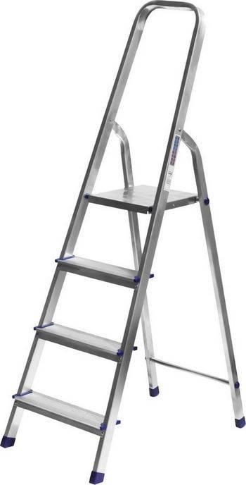 Купить Лестница-стремянка алюминиевая СИБИН Без серии 38801-4