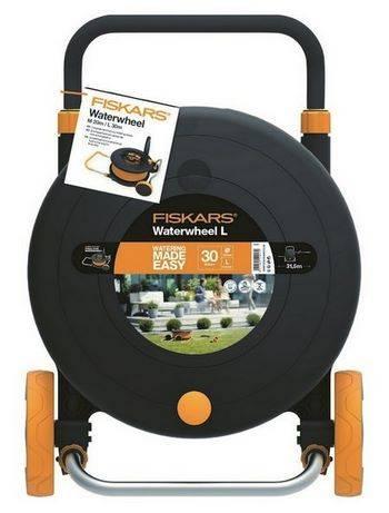 Купить Катушка со шлангом FISKARS 102364430м, диаметр 1/2 дюйма (13 мм) + набор аксессуаров