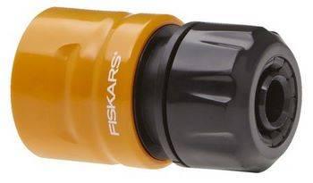 Купить Коннектор FISKARS 1023667для шланга Solid диаметром 1/2- 5/8 дюйма (13-15 мм)