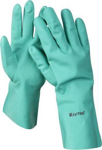 Купить Перчатки нитриловые маслобензостойкие KRAFTOOL EXPERT 11280-XXL