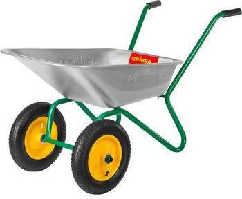 Купить Тачка садовая двухколесная GRINDA Без серии 422400