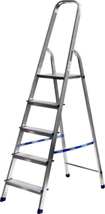 Купить Лестница-стремянка алюминиевая СИБИН Без серии 38801-5