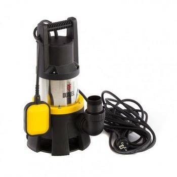 Купить Дренажный насос DP1400X, 1400 Вт, подъем 11 м, 25000 л/ч Denzel