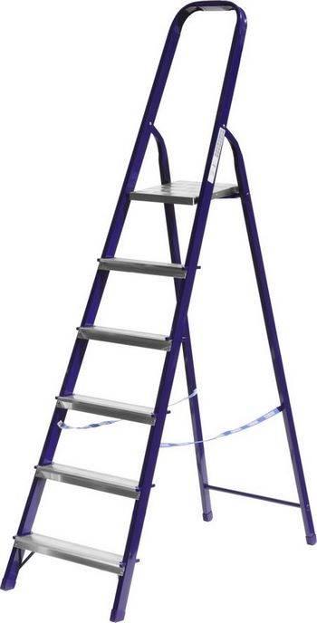 Купить Лестница-стремянка стальная СИБИН Без серии 38803-06